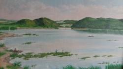 Festmény Fent János 102,5 x 83 cm