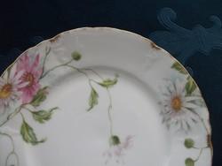 Antik Rosenthal IRIS mintás tányér a kereskedő-F.A Schumann-Hoflieferant-Berlin- jelzésével