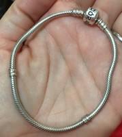 Pandora karkötő, ezüst