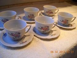 Antik porcelán teáskészlet eladó!