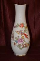 Hollóházi nagy méretű pacsirta madaras váza