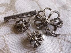 Nagyon szép antik ezüst szett.