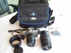 CANON EOS 3000 N tip. hagyományos (filmes) fényképezőgép szett